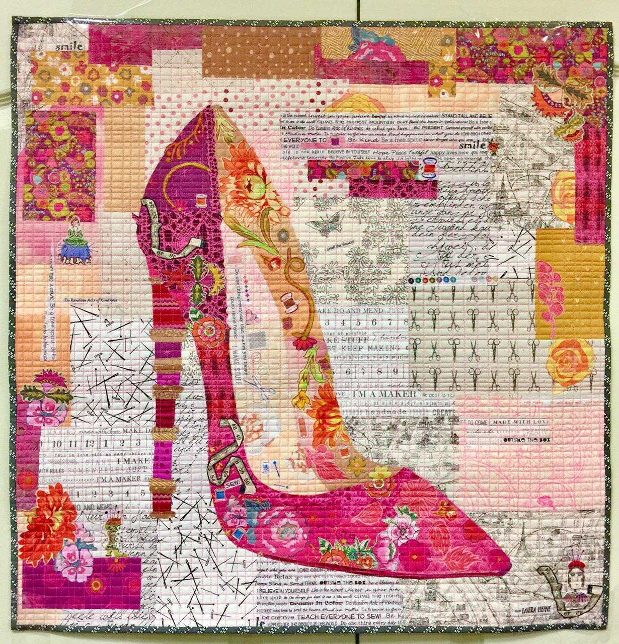 Pink Pump Collage Kit