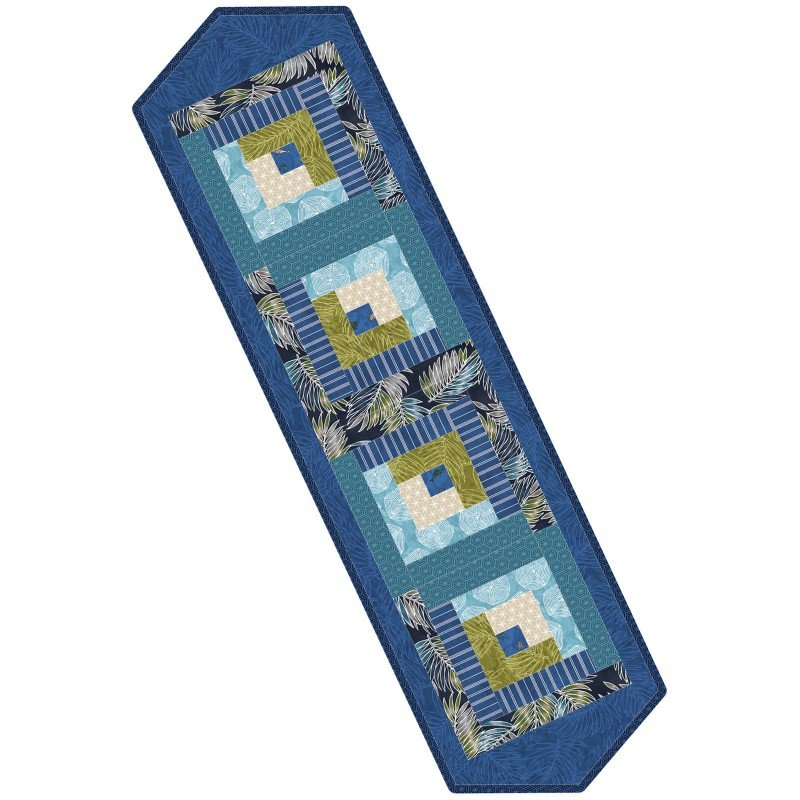 Log Cabin Table Runner Pod