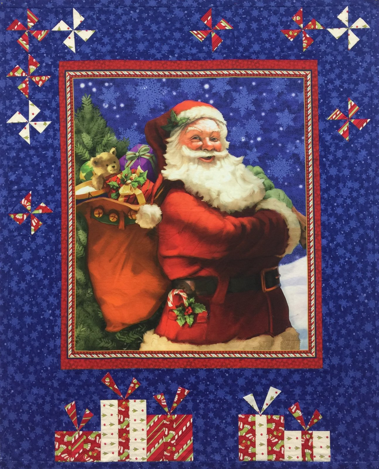 Santa is Coming Quilt Kit