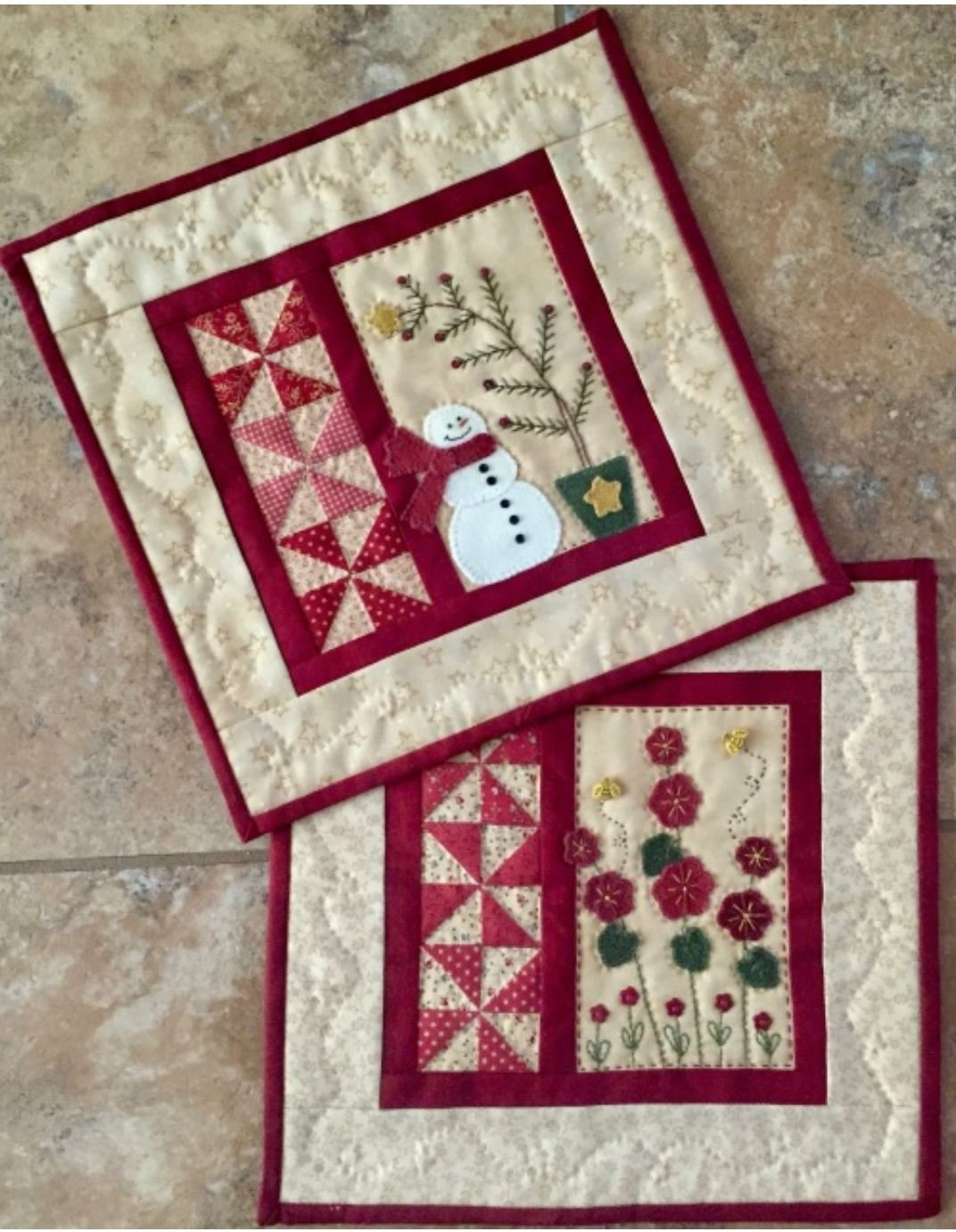 Seasons One - Red Button Quilt Co.