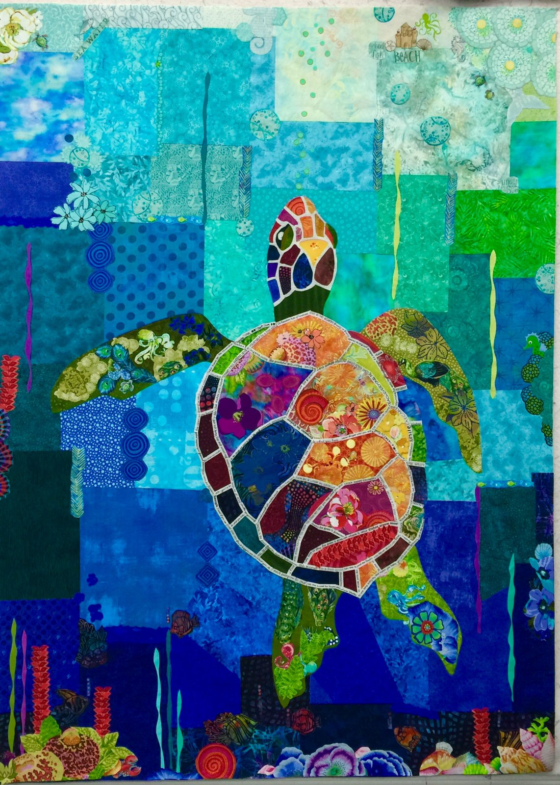 Seawell Sea Turtle Collage Kit
