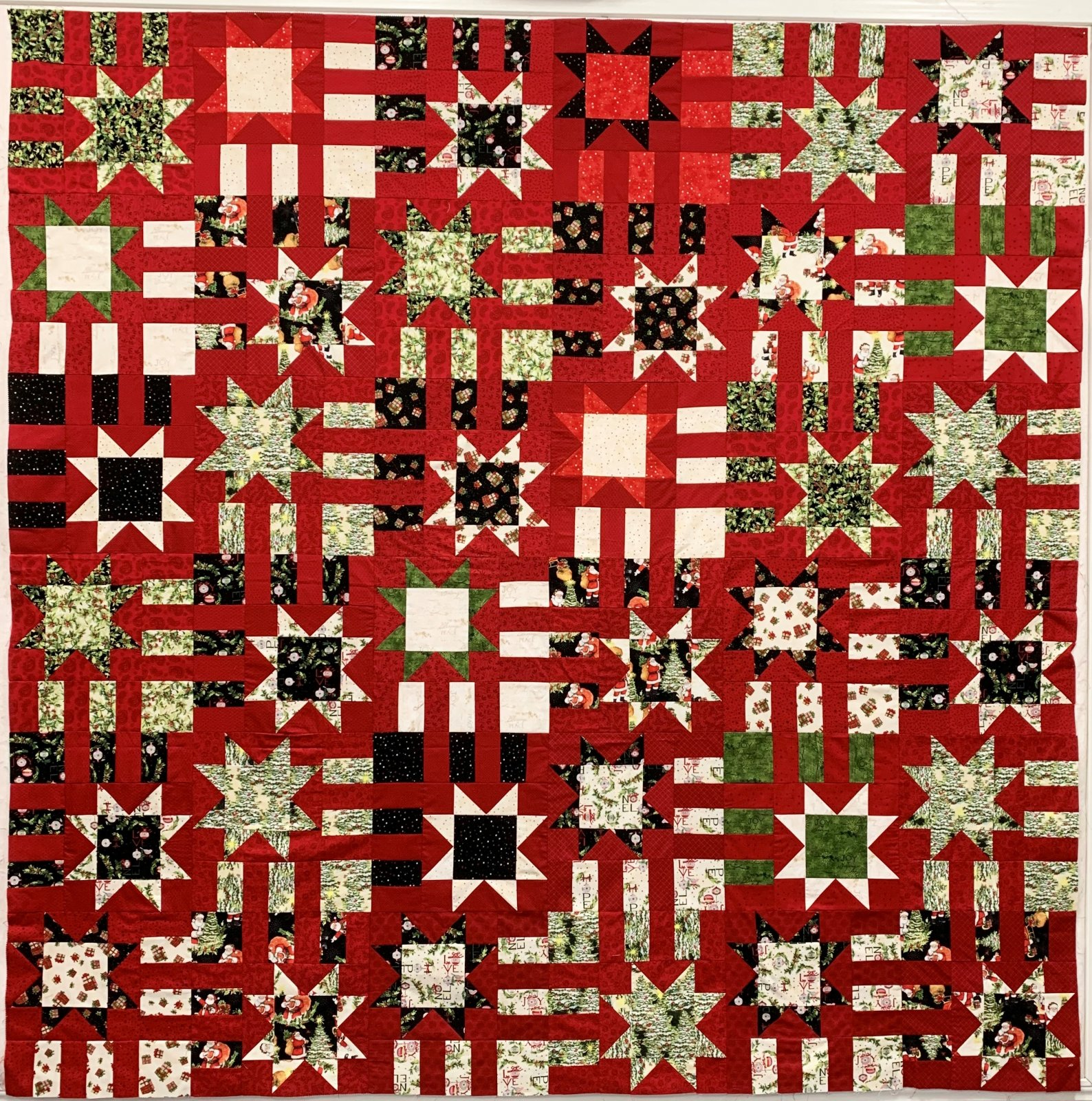 Starry Path Quilt Kit
