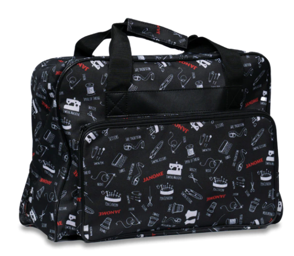 Janome Pattern Fabric Tote Bag