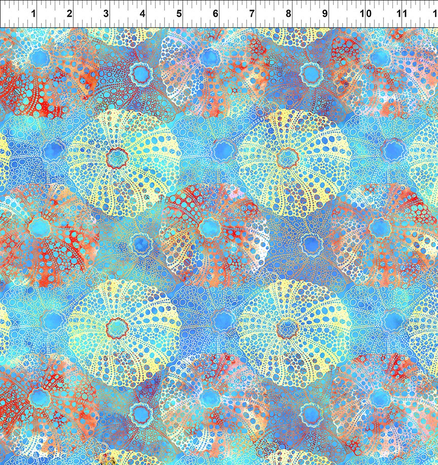 In The Beginning Calypso II Sea Urchins Blue