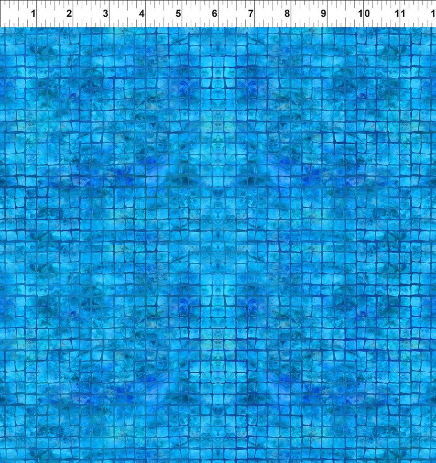 In The Beginning Calypso II Tiles Blue