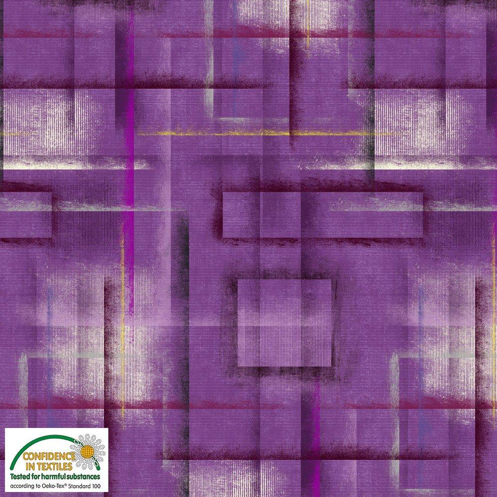Stof Fabrics Colour Brushed Purple