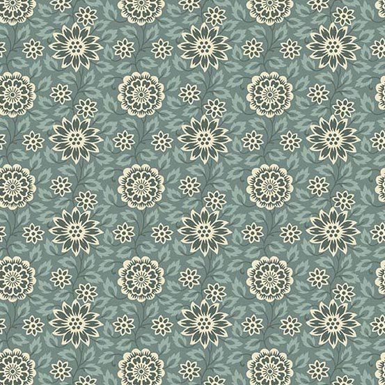 Andover Fabrics Bed of Roses by Laundry Basket