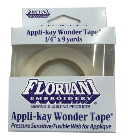 Floriani Appli-kay Wonder Tape 1/4 x 9 yds