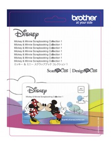 Brother Disney Mickey Mouse & Minnie Mouse - Paper Crafts-Collection 1