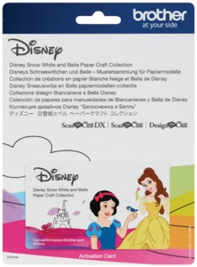 Brother Scan N Cut DX Snow White Disney-Paper Craft Collection