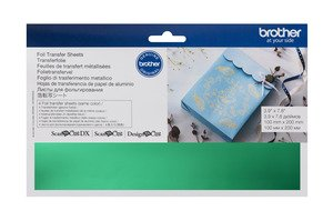 Brother Scan N Cut Foil Transfer Sheets - Green