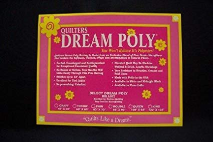 Quilters Dream Poly Midnight Black - Crib