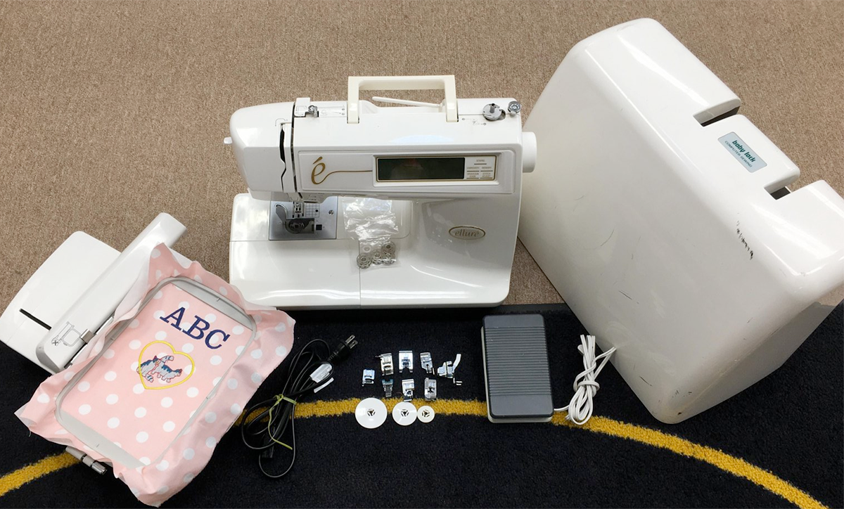 USED - Baby Lock Ellure ESL Sewing & Embroidery w/hard case