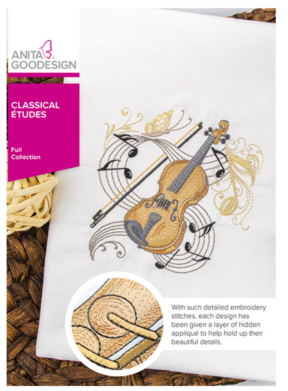 Anita Goodesign Classical Etudes Full Collection