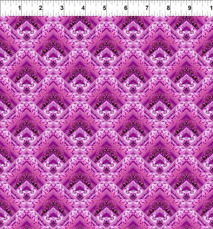 In The Beginning Fabrics - Magenta