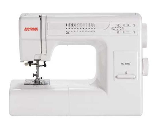 Janome HD-3000 Heavy Duty Sewing Machine
