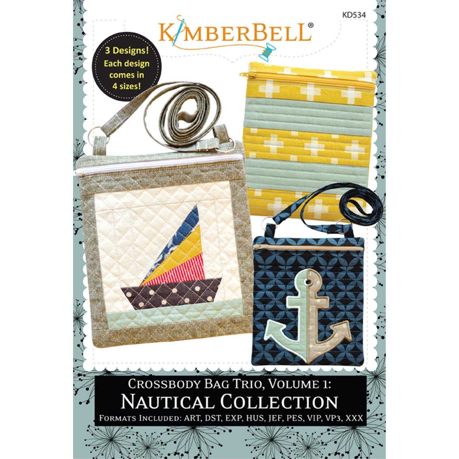 Kimberbell Crossbody Bag Trio, Vol 1: Nautical Collection