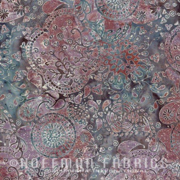 Hoffman Bali Batik Dusty Mauve N2828 D11