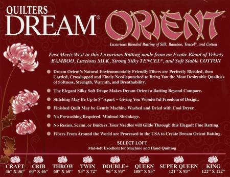 Quilters Dream Orient - Throw