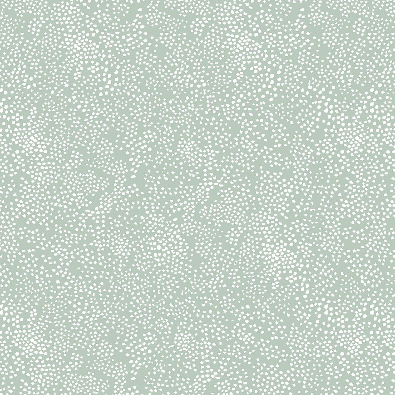RJR Fabrics - Cotton & Steel Basics - Menagerie Champage - Mint