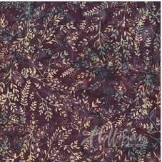 Hoffman Bali Batiks - Ditsy Leaf Bergen