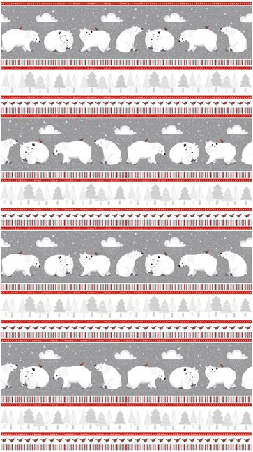 Northcott Polar Hugs White