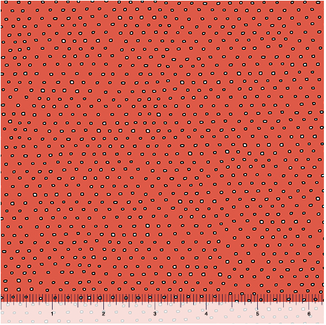 Quilting Treasures Pixie Square Dot Blender Tomato