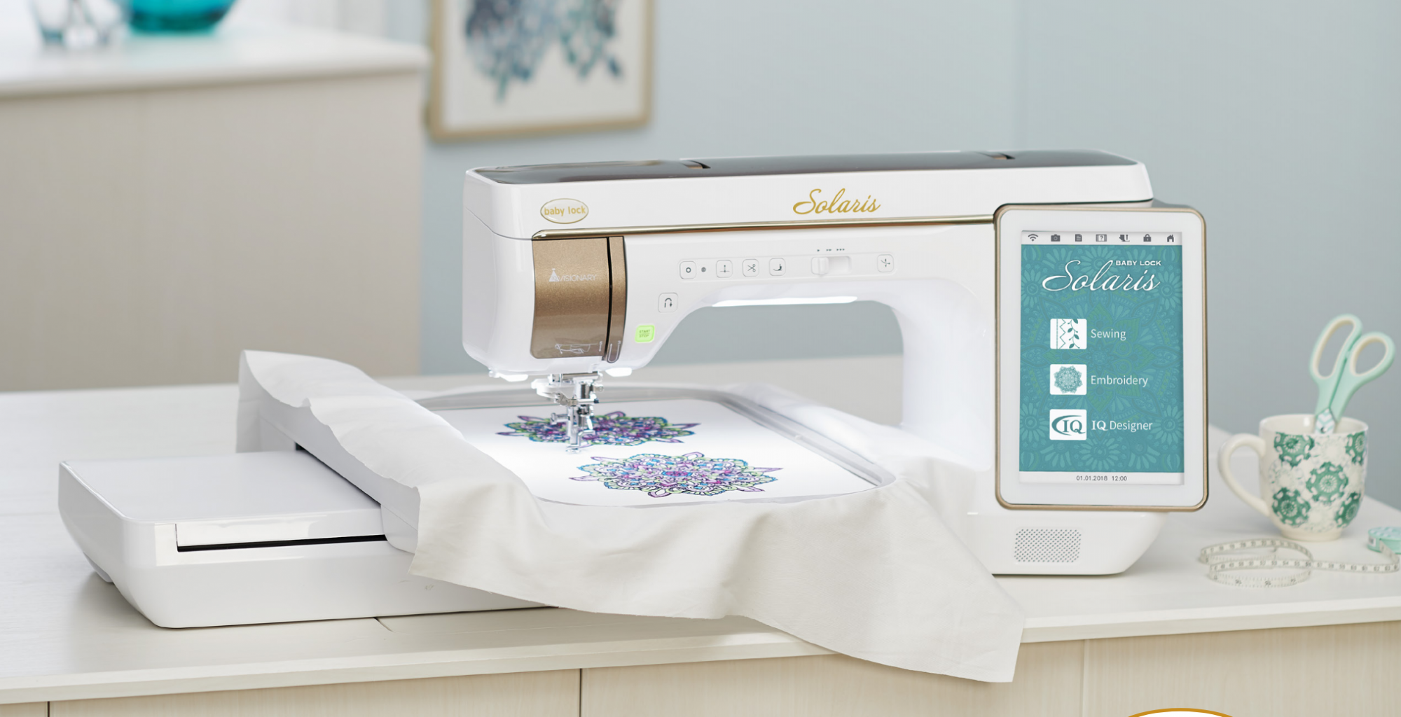 Baby Lock Solaris Embroidery & Sewing Machine