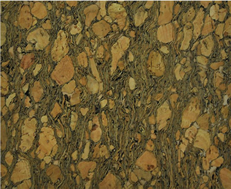 Belagio Ent. Cork Fabric 18 x 15 Dark Natural