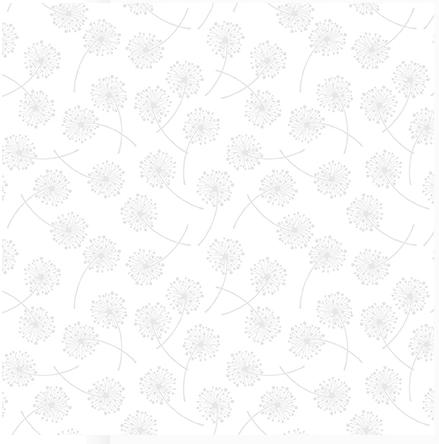 Blank Quilting Vanilla Icing III Dandelions