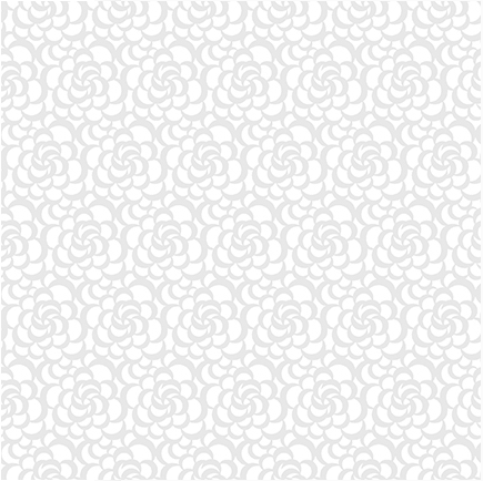 Blank Quilting Vanilla Icing III Packed Floral