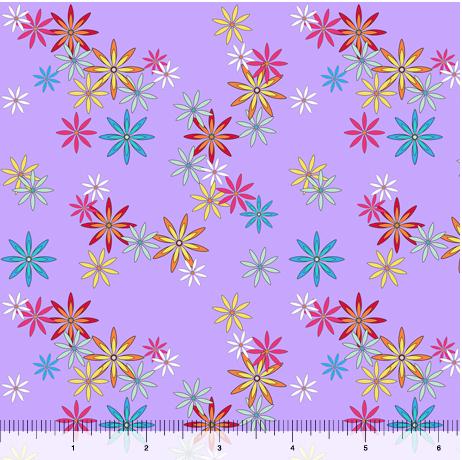 QT Party Like a Unicorn - Flowers Lilac