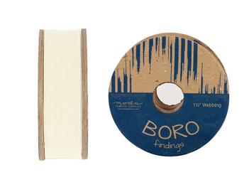 Moda Boro Trim Webbing 1.5 Ivory