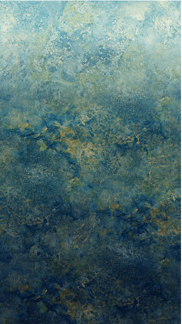 Northcott Stonehenge Ombre Blue Planet
