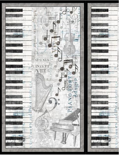 Wilmington Prints Interlude Panel 25 x 44