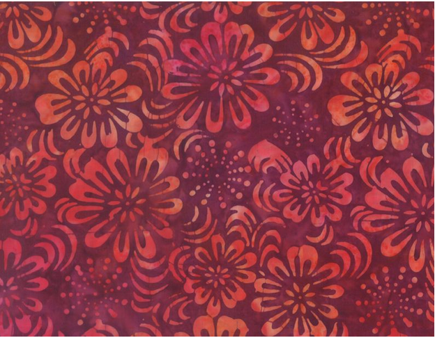 Wilmington Prints Common Ground Sparkly Floral Red