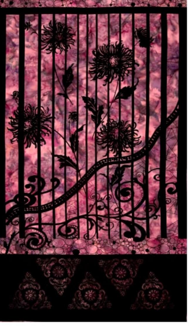 Northcott Banyan Batiks Shattered Garden Panel