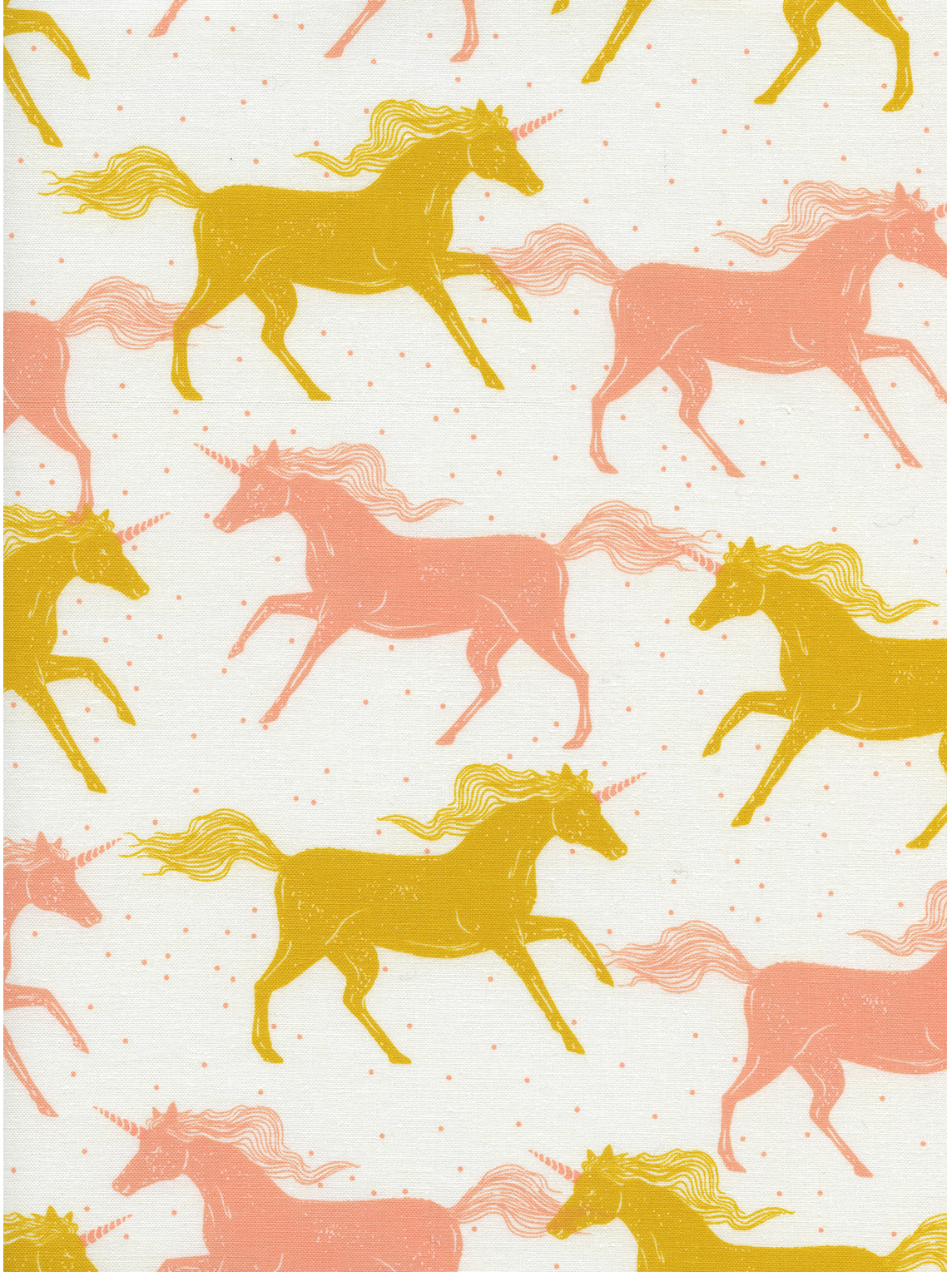 RJR Cotton Steel Basics Magic Forest Unicorns