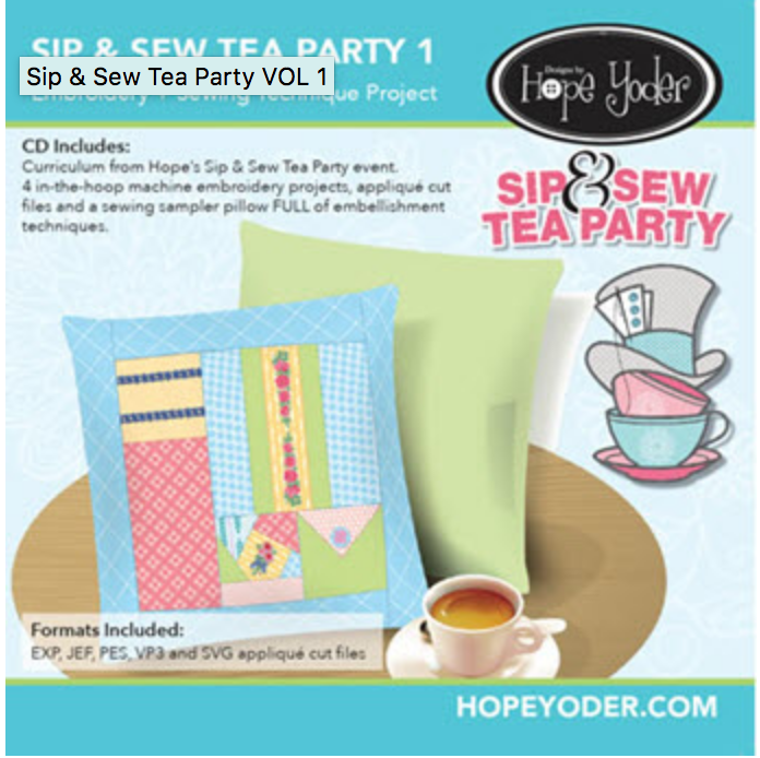 Hope Yoder Sip & Sew Tea Party 1