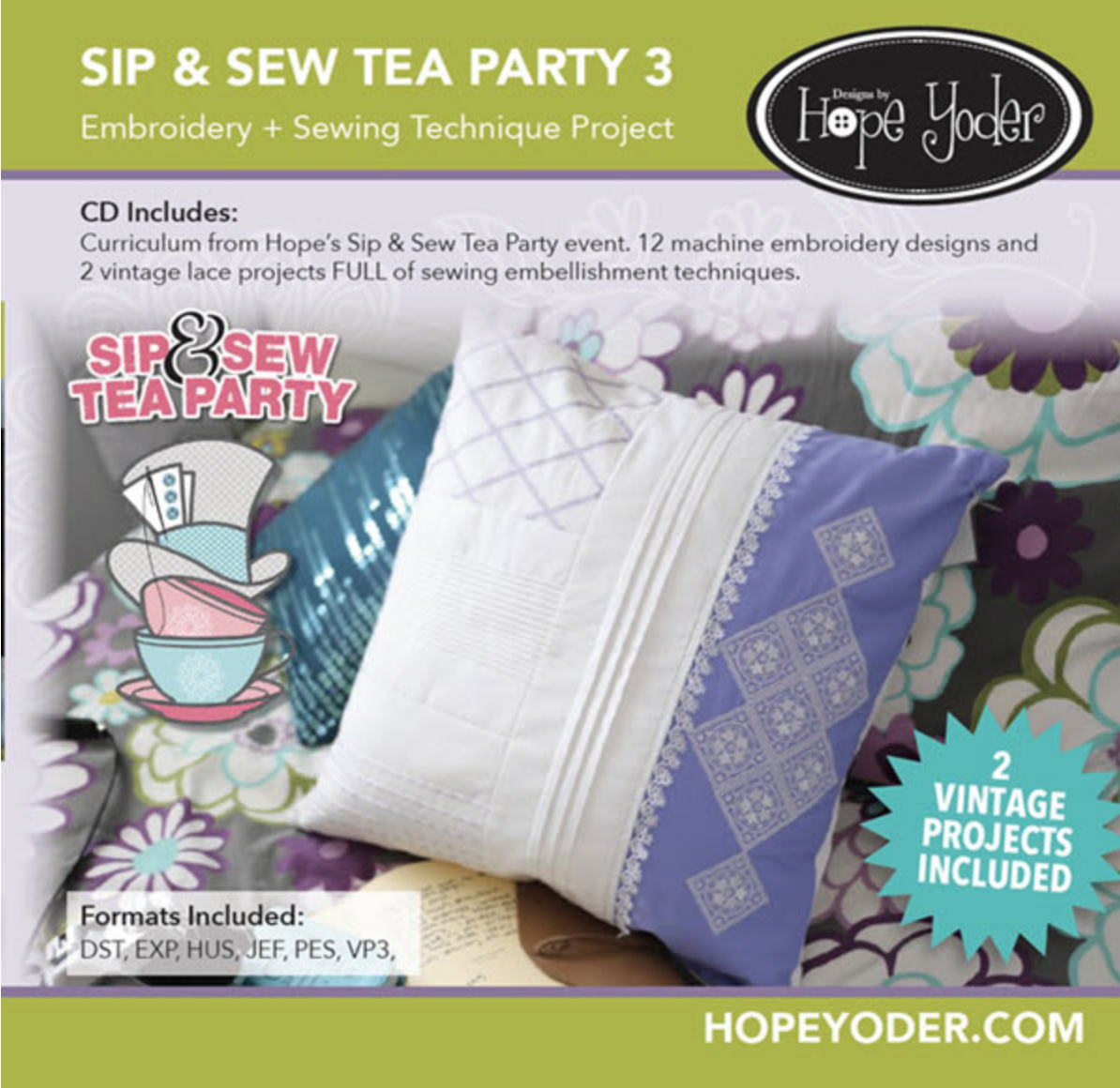 Hope Yoder Sip & Sew Tea Party 3