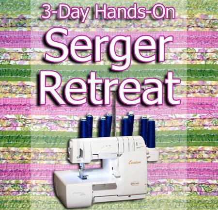 Sue GB 3-Day Hands-On Serger Retreat