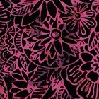 Clothworks Laurel Burch Batik Menagerie Raspberry