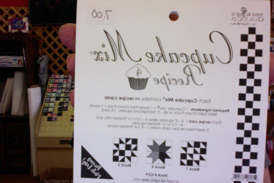 Cupcake Mix - Recipe 4