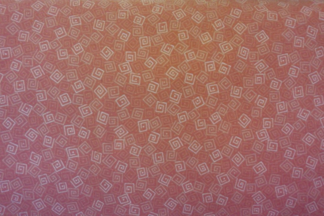 QT - flannel-Harmony - orange