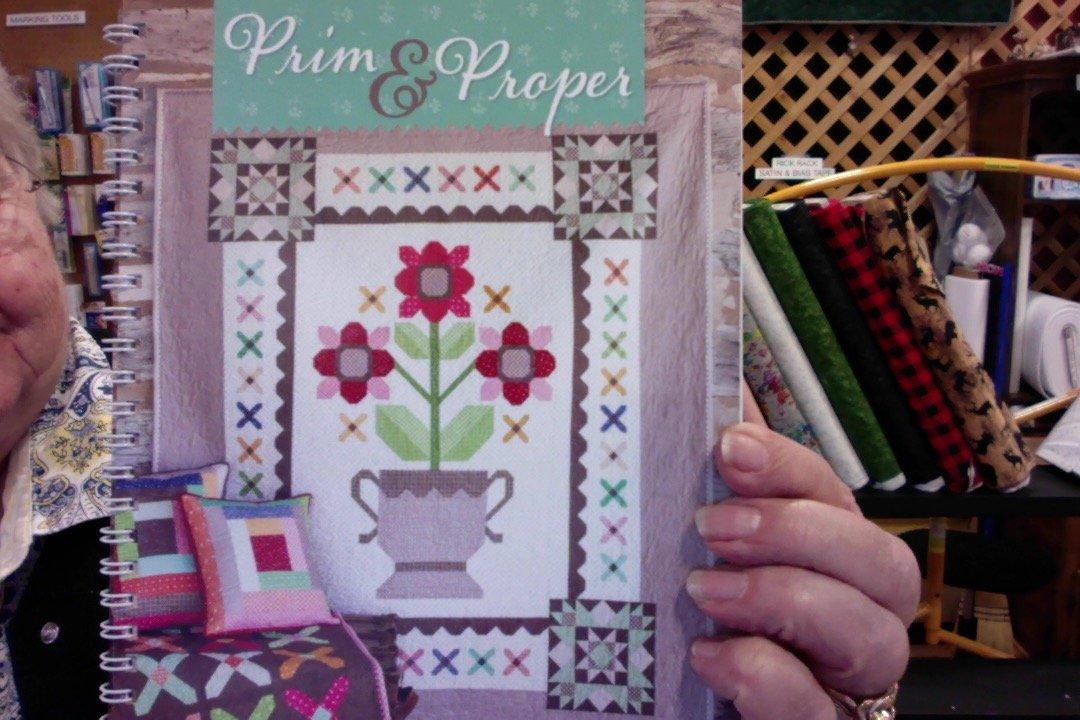 Bee in my Bonnet-Prime & Proper book