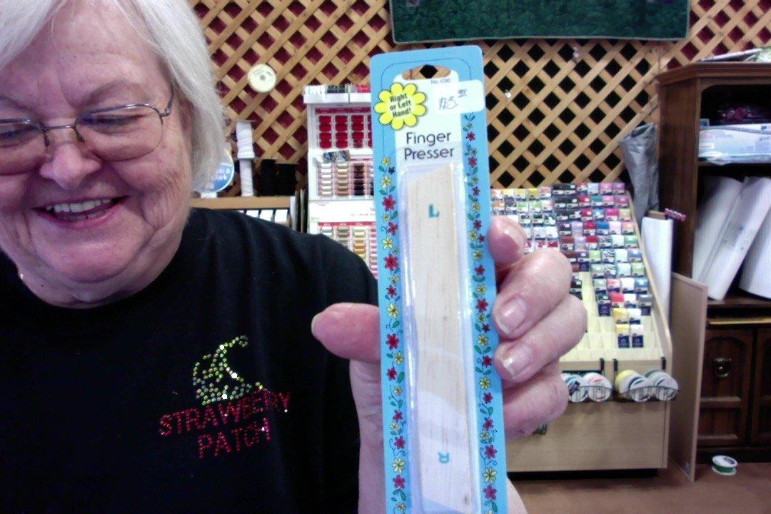 CH-finger presser - wood