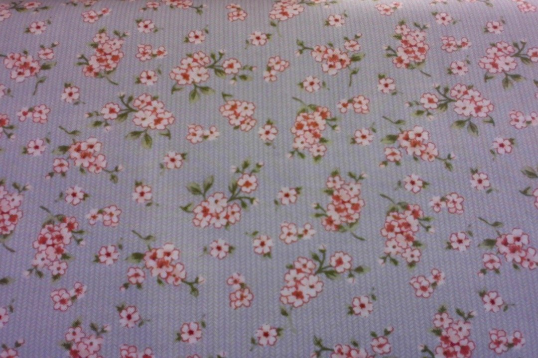 Ben-petite floral grey/rose