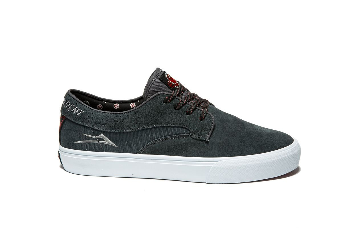 Lakai Riley Hawk x Independent Trucks chacoal suede