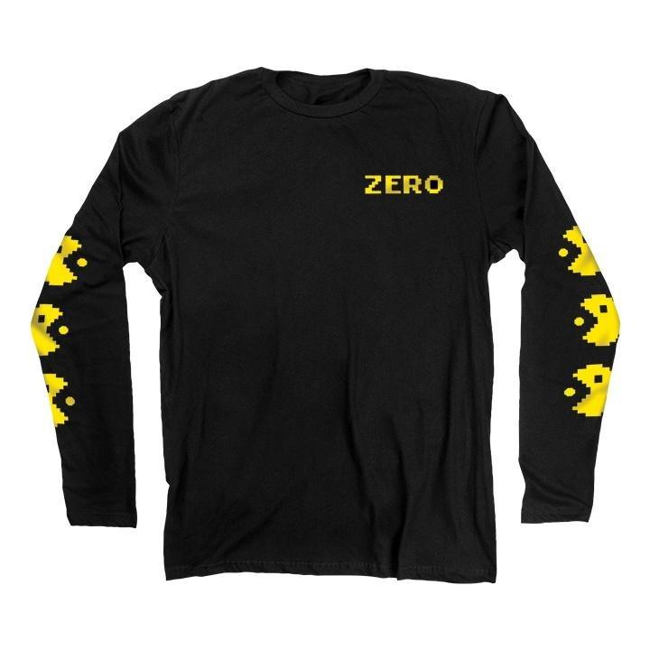 Zero Chomp l/s shirt black