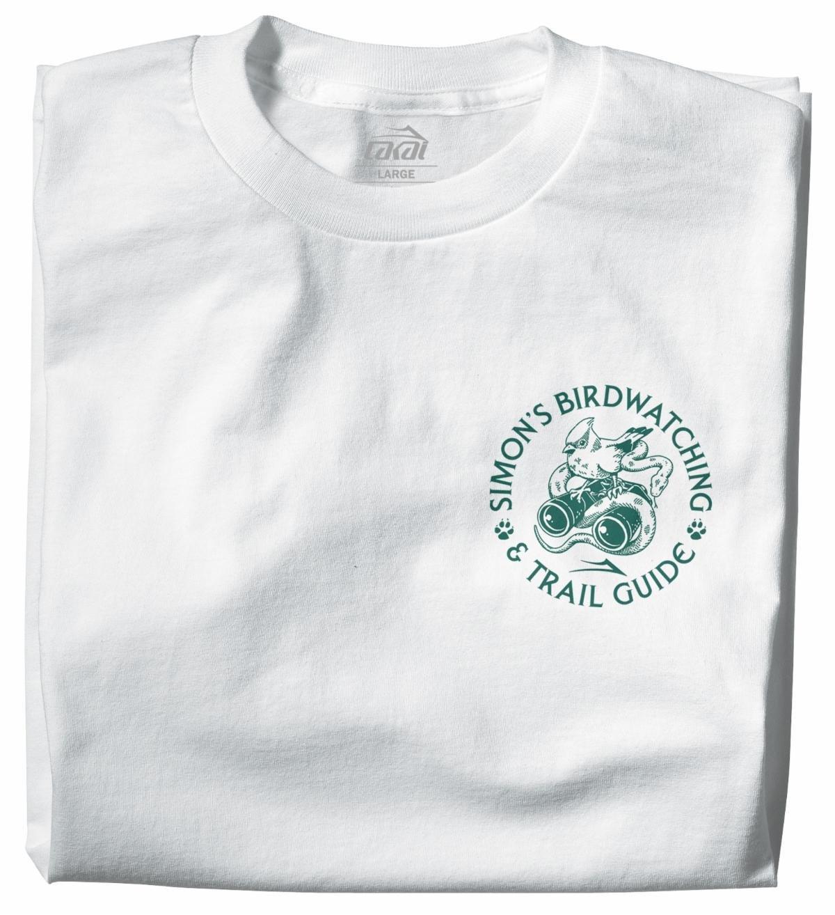 Lakai Simon's Birdwatching s/s t shirt white/green